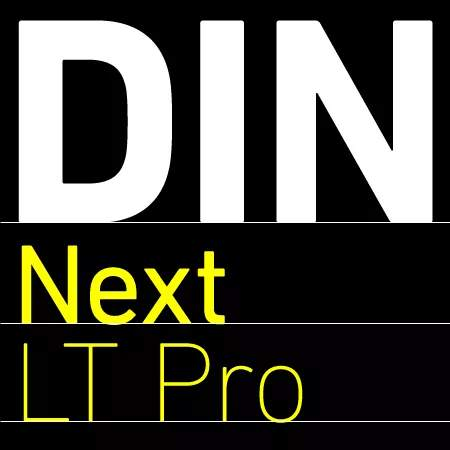 DIN Next LT Pro: download for free and install for your