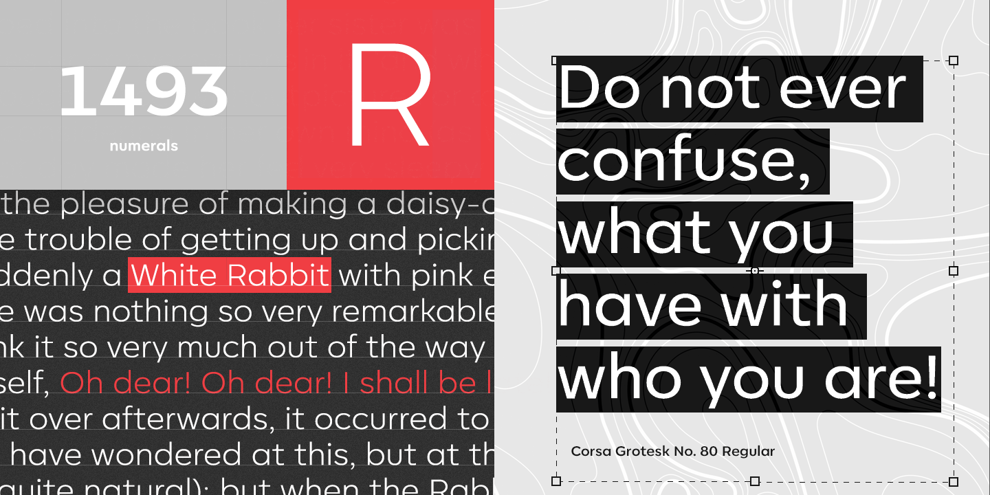 Corsa Grotesk: download for free and install for your
