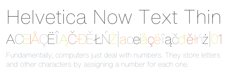 Helvetica Now Text : download for free and install for your