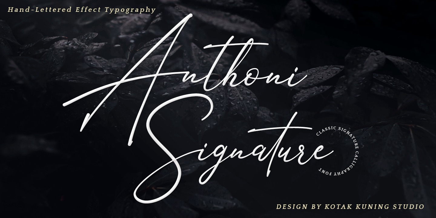 Download Anthoni Signature: download for free and install for your ...